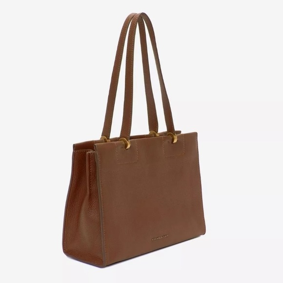 8a31892ce629 Etienne Aigner Bags   Colette Toffee Tote Leather Purse   Poshmark